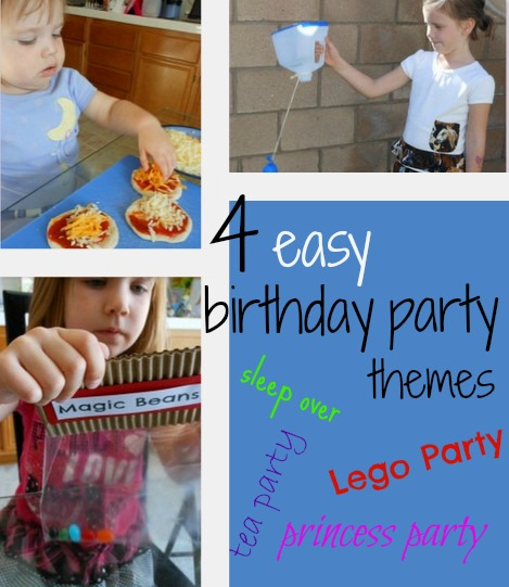 Super simple Birthday Party ideas
