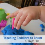 Counting with Toddlers… 5 simple tips