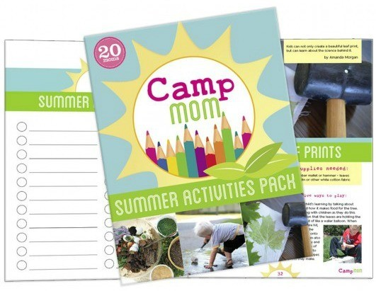 Camp Mom! Summer Activities Pack - FULL of great (and simple) summer ideas for kids