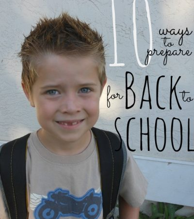 Back to school list - glad I found it!