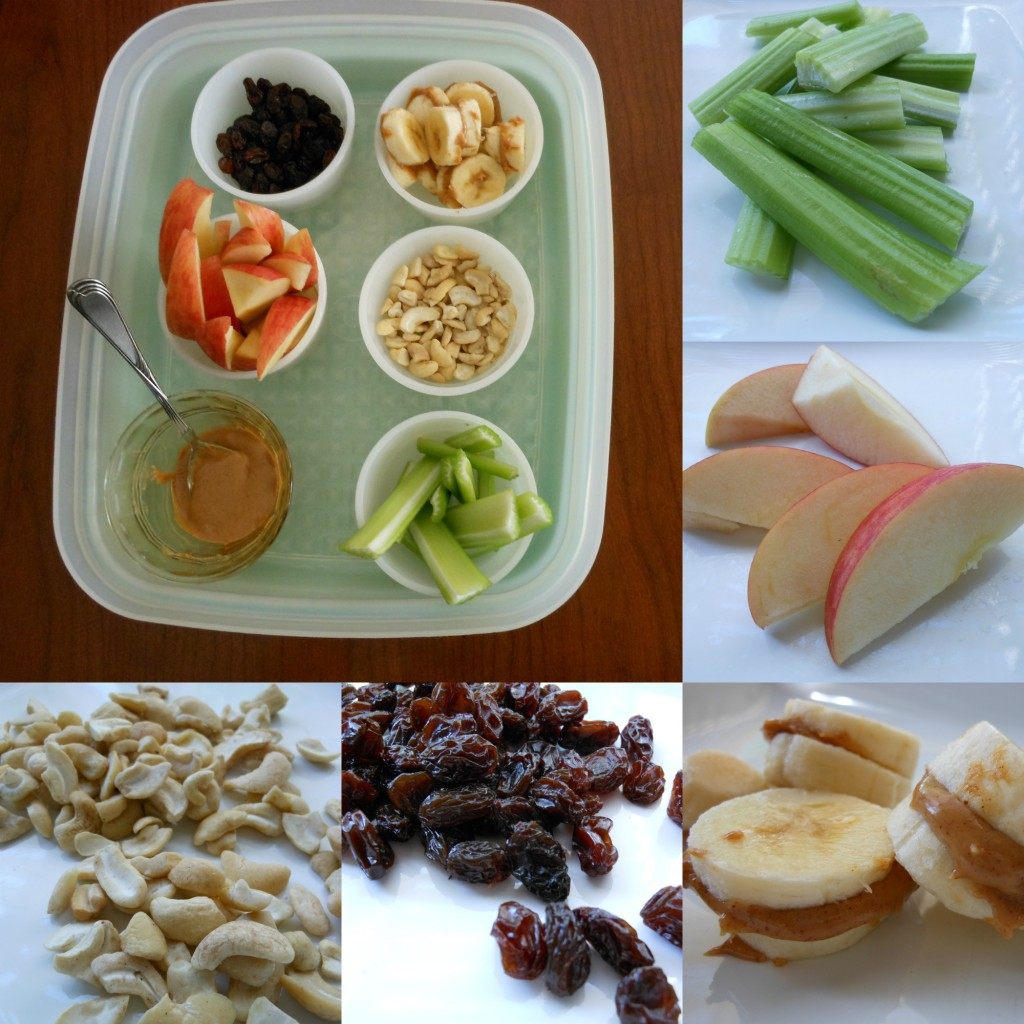 Healthy snacks for kids... grazing tray
