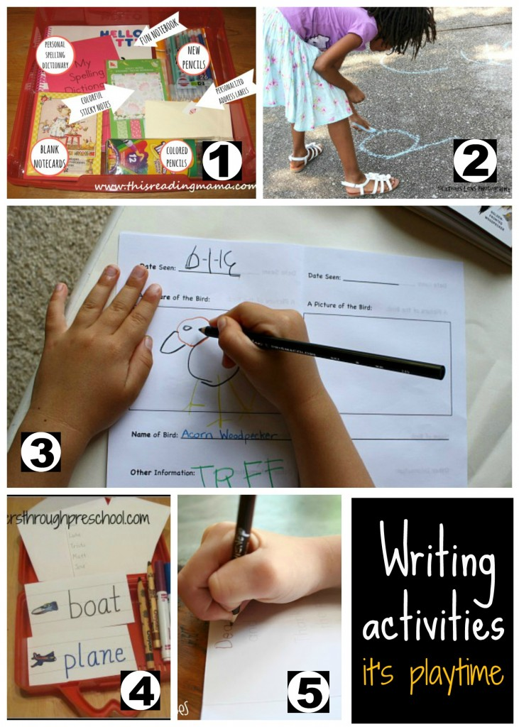 awesome writing activities for kids