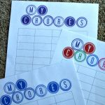 Kids and Chores: Sticker Printable Chore Charts