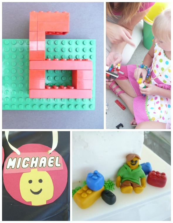 Lego Party Ideas with Lego Activities for kids