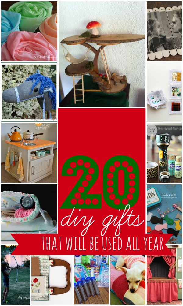 Wow! What a great list of homemade gifts. Some easy to make some a little more difficult. I love #4 and #17.