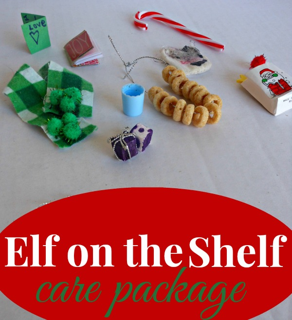 Elf on the Shelf - care package - perfect for safe travels (plus tips on prepping for December with the Elf)