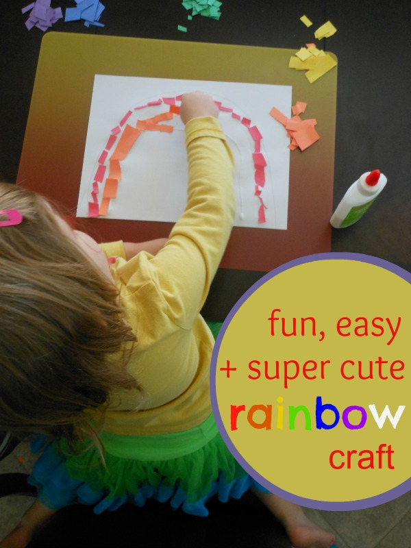 great rainbow craft for toddlers (4)
