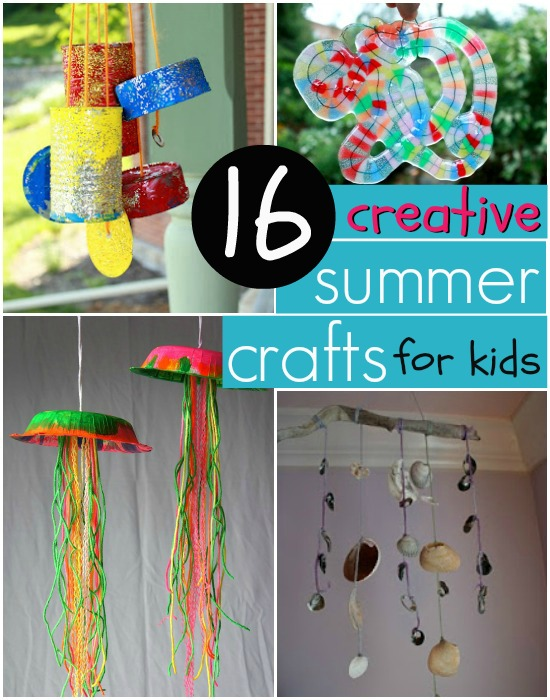 Creative Easy Summer Crafts For Kids