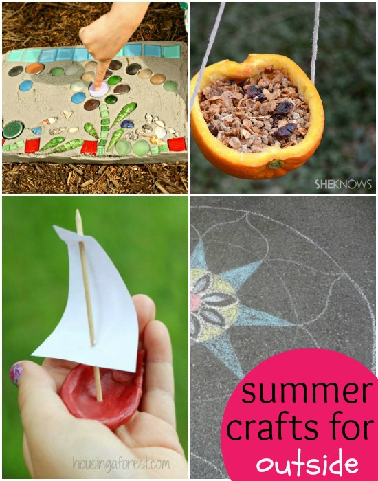 summer crafts for outside