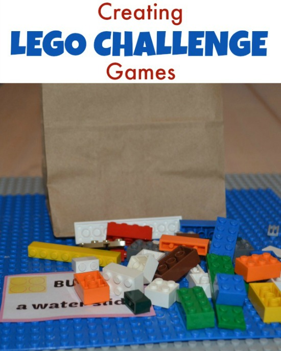 Creating LEGO Challenge Games - easy boardem buster