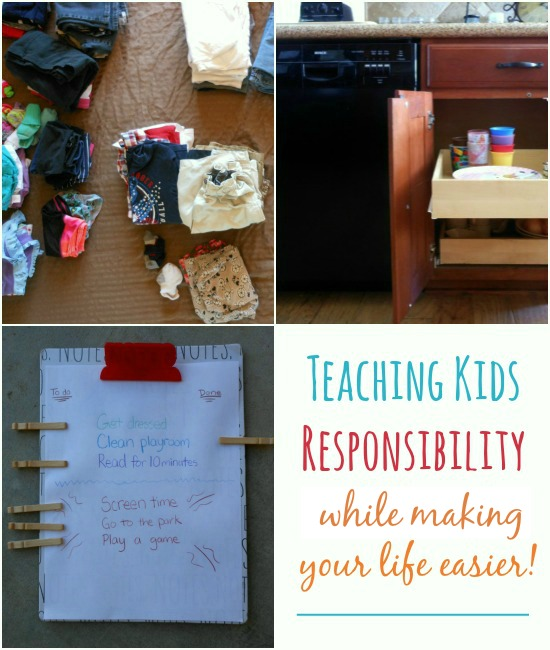 3 tips for teaching kids responsibility (while making your life easier.... shhh!)