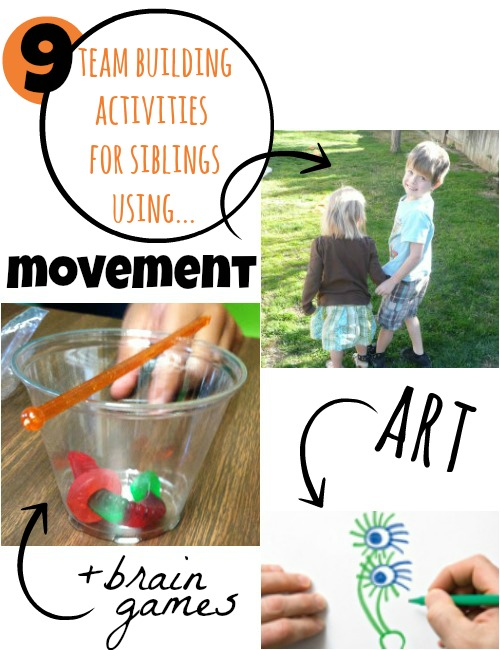 9 team building activities for kids... think siblings!