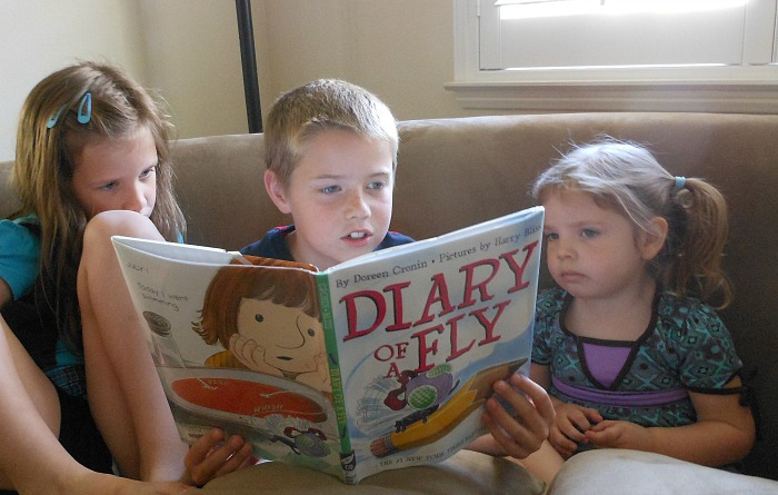 Creative ways to get your kids reading