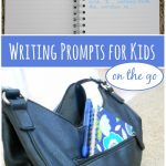 On The Go Writing Prompts for Kids