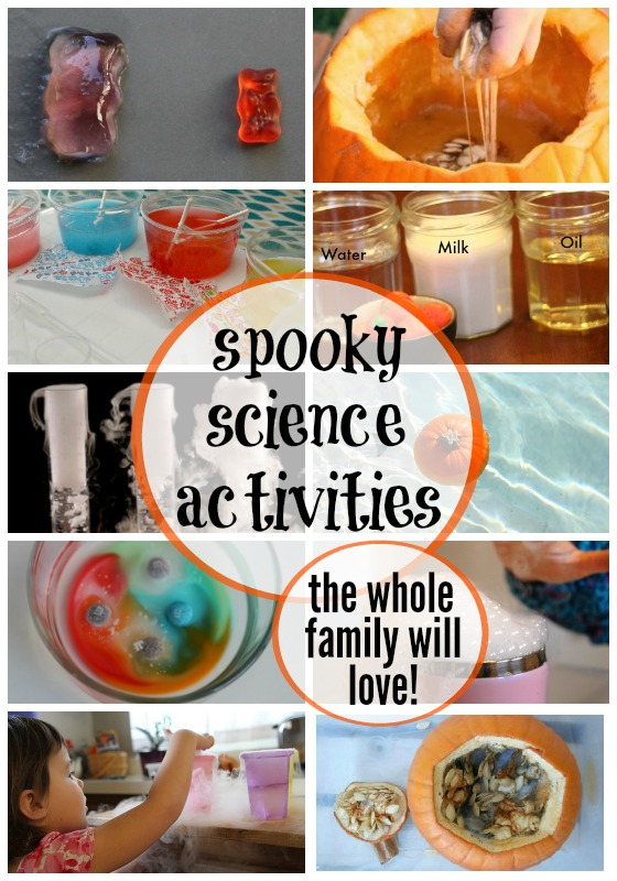 halloween science experiments!