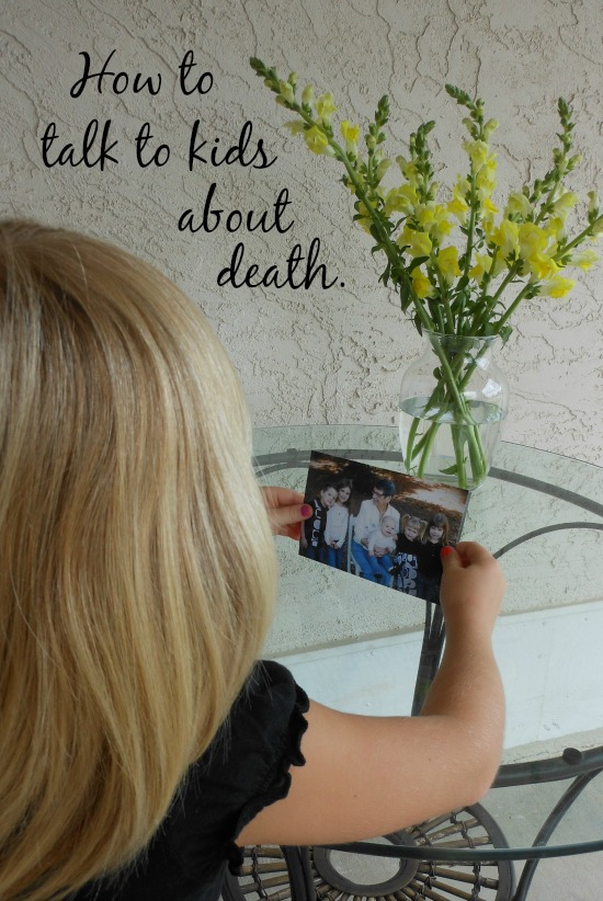 tips for how to talk to kids about death