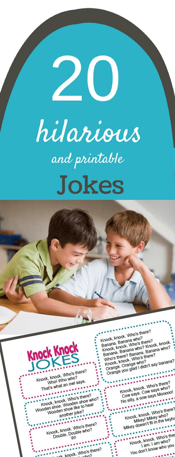 Best Knock Knock Jokes For Kids Printable Jokes For Kids