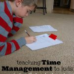 5 Ways to Start Teaching Time Management for Kids