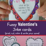 Funny Valentine's Day Cards – Printable Joke Cards for Kids