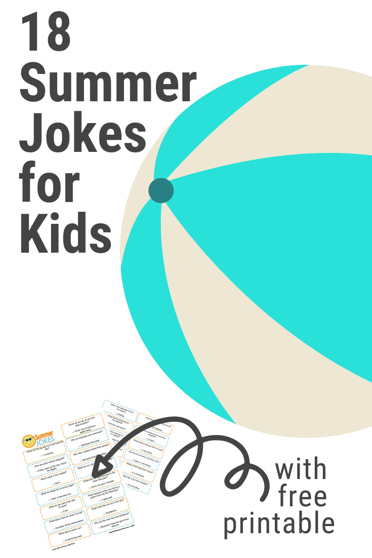 18 Printable Summer Jokes for Kids