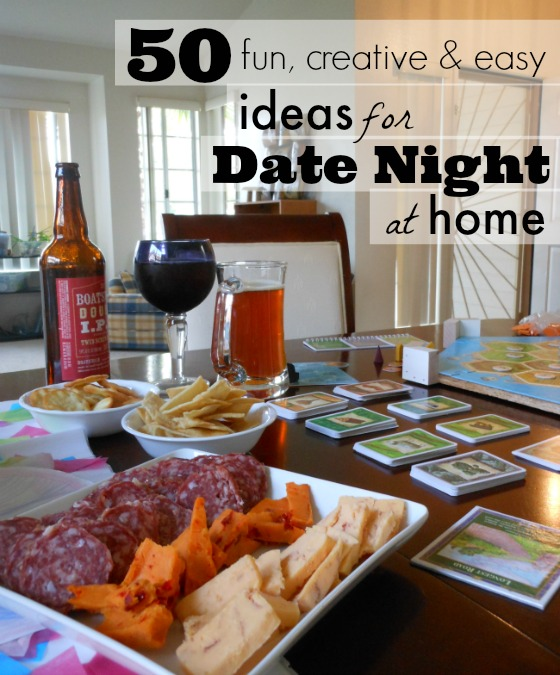 50 Fun & Creative at Home Date Night Ideas Perfect for Parents