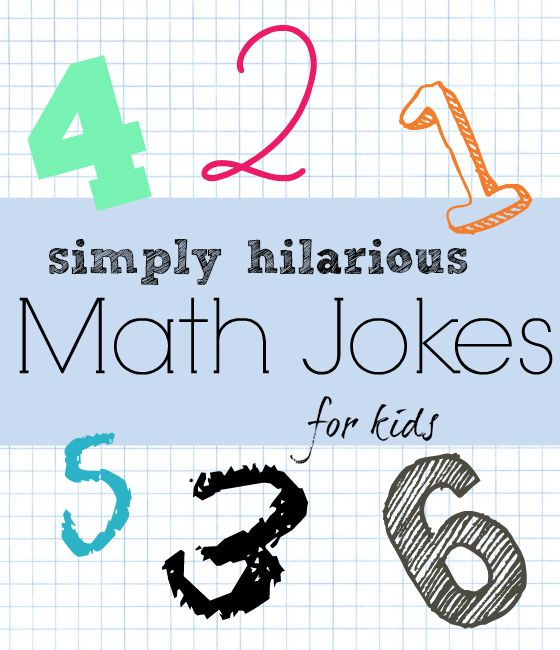 18 really funny math jokes for kids