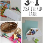 Creative Kid Table Week 9: Cutting
