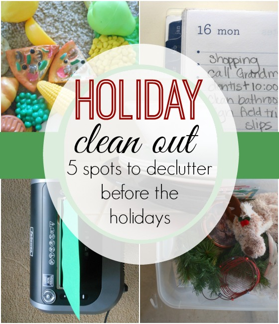 Love this list of declutter spots! Limiting Christmas stress is so important.