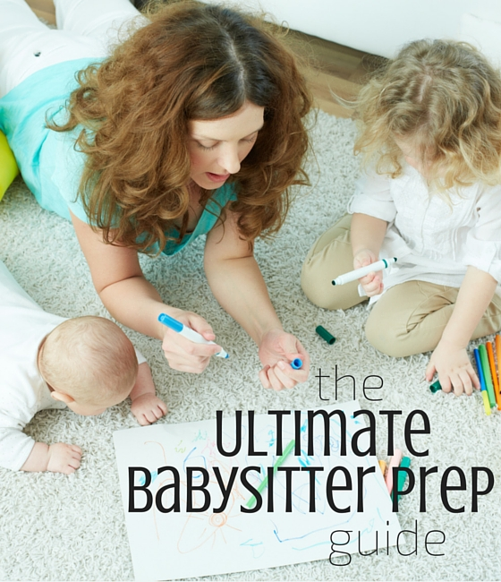 What an awesome list of babysitting prep ideas!