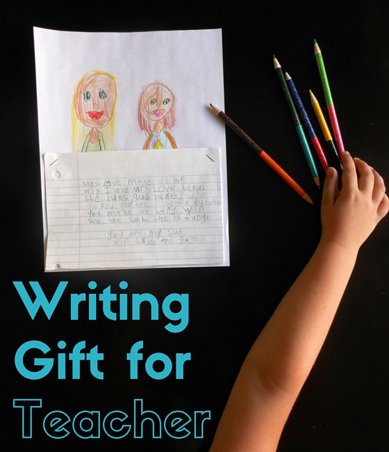 love this creative teacher gift idea for teacher appreciation!