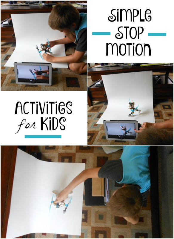 5 activities and 6 tools for stop motion for kids