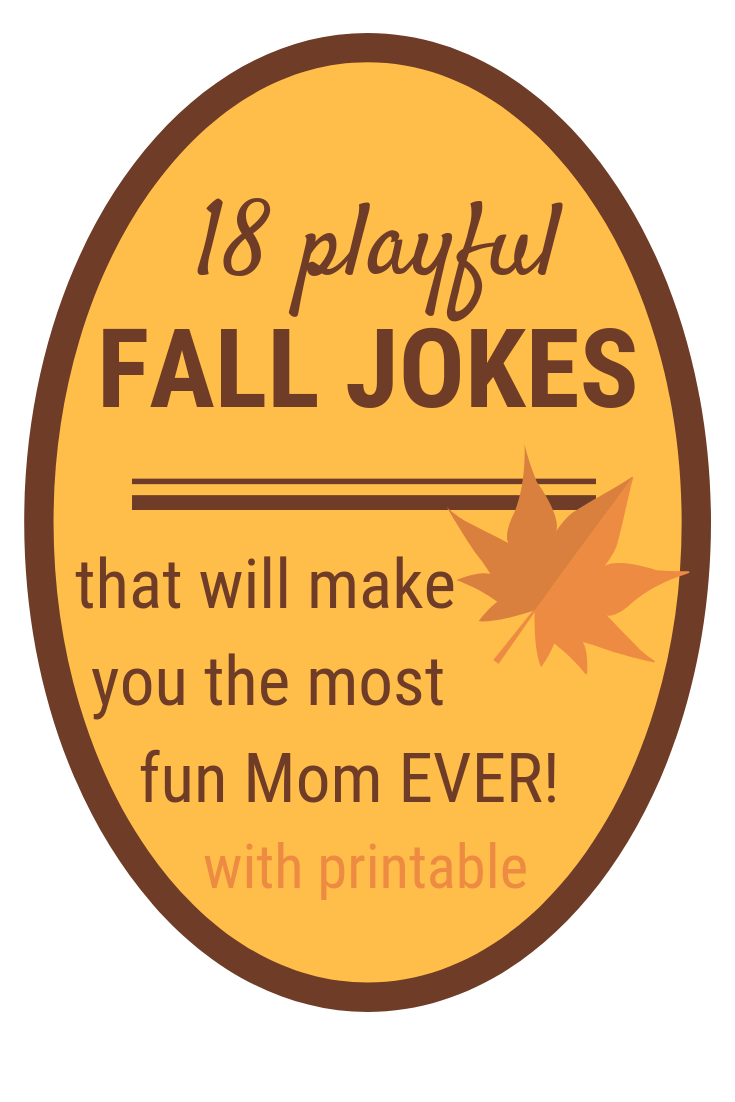 Fall Jokes for Kids | 18 Fun & PRINTABLE Fall Jokes