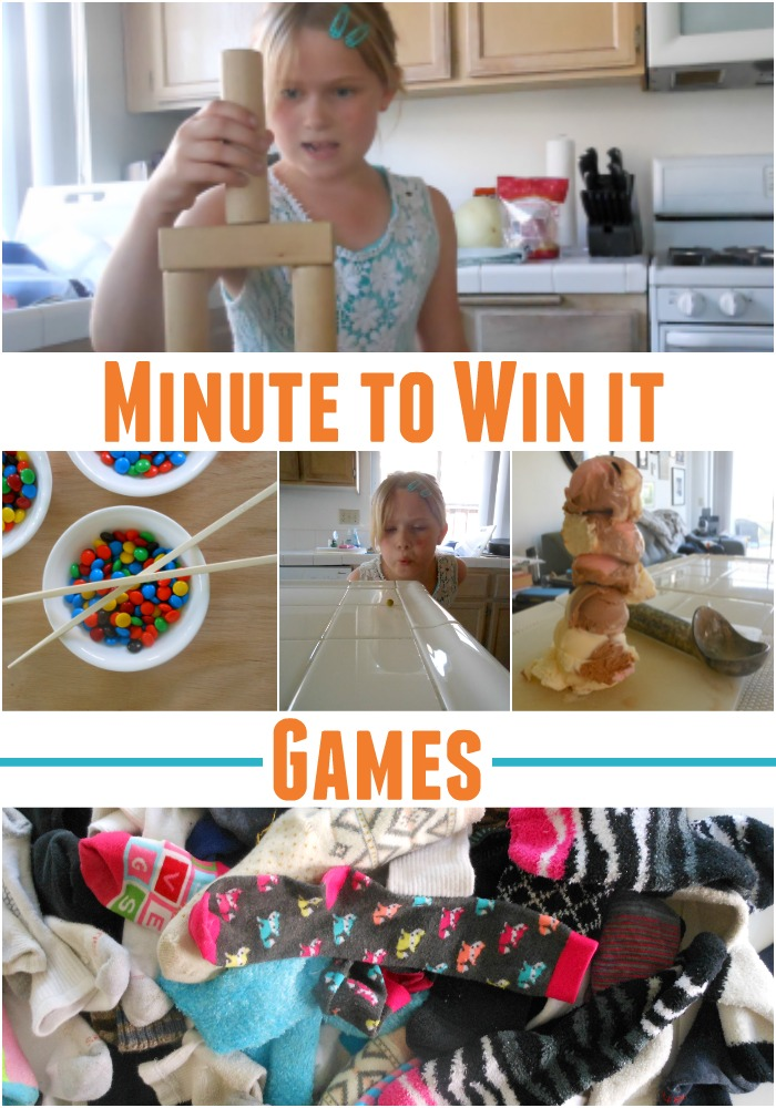 We had a blast with these 5 GUINNESS WORLD RECORDS™ inspired Minute To Win It games.