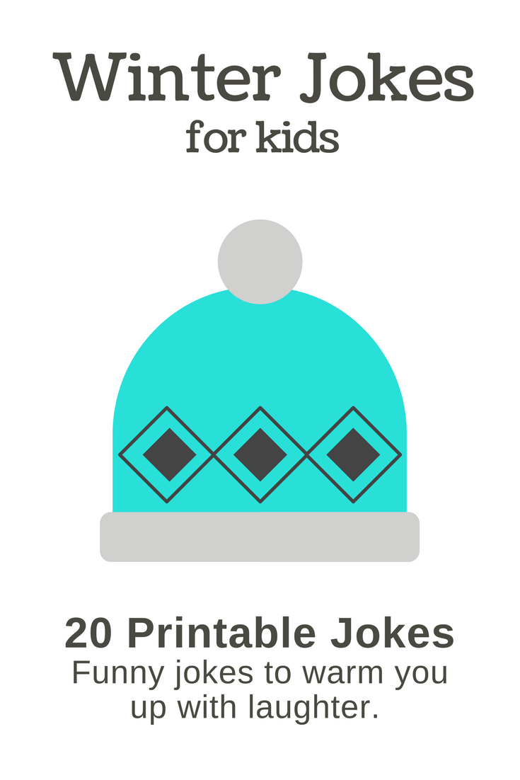 20 Funny Winter Jokes for Kids (and they're printable!)