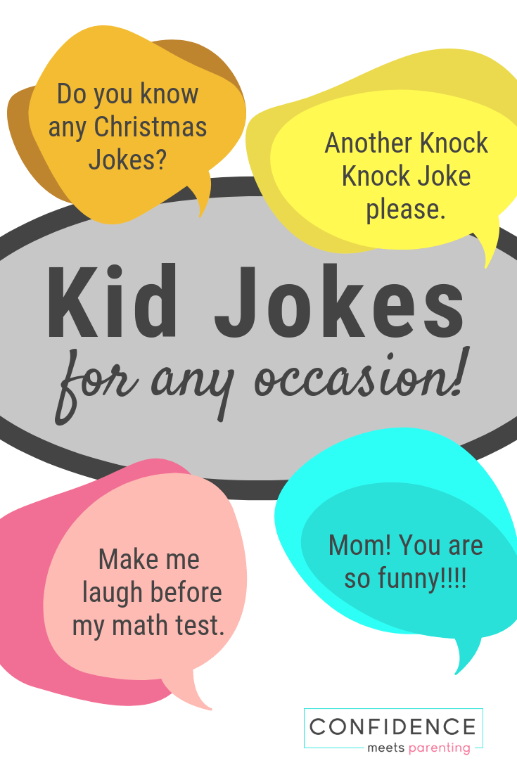 Looking for some good jokes for kids? Halloween Jokes, Math Jokes, Spring Jokes and more... Making your kids laugh has never been easier.
