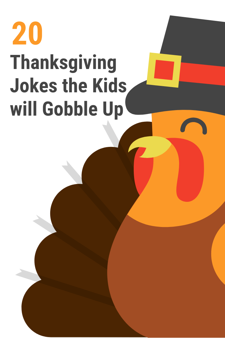 Thanksgiving jokes for kids that everyone in the family will gobble up. 20 printable Thanksgiving and turkey jokes perfect for a day of togetherness.