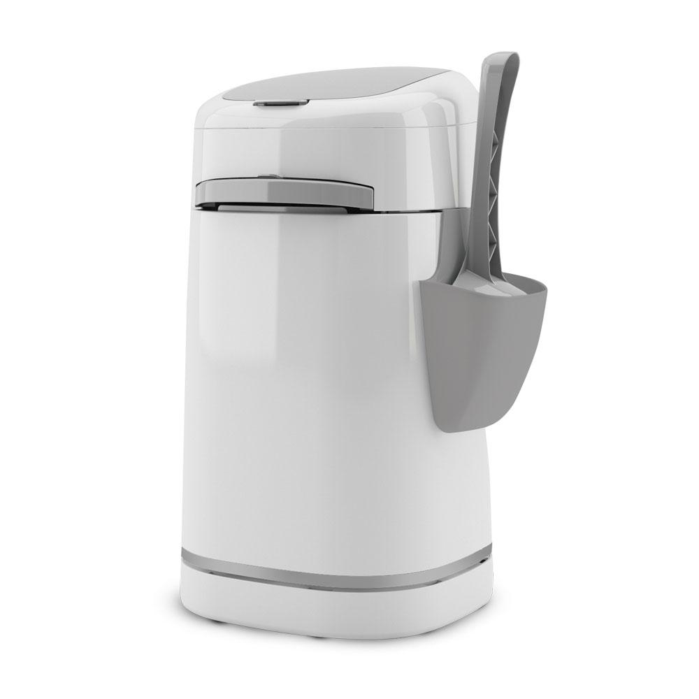 Je vous présente mon avis complet sur la poubelle de litière sans odeur Litter Locker. + un concours pour gagner une poubelle hygiénique Litter locker plus