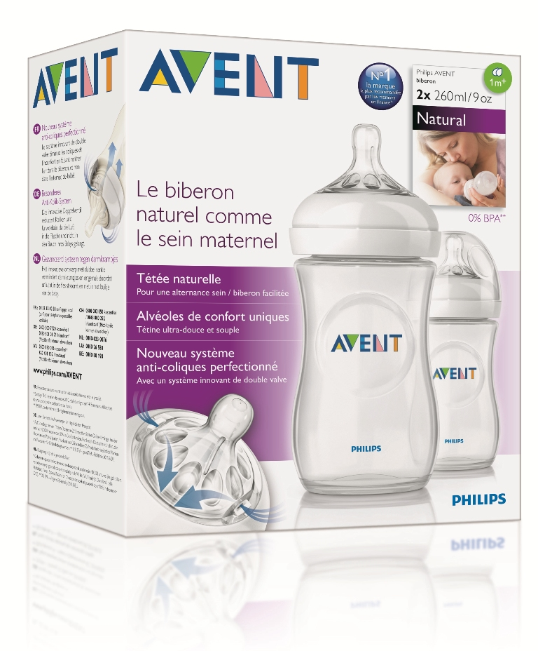 Nouveau biberon Philips AVENT Natural