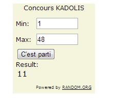 concours KADOLIS