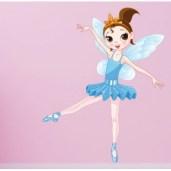stickers-ballerine-bleue-ciel