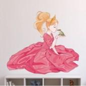 stickers-la-princesse-et-le-crapaud
