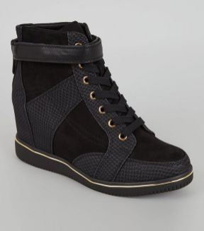 black-perforated-panel-wedge-trainers