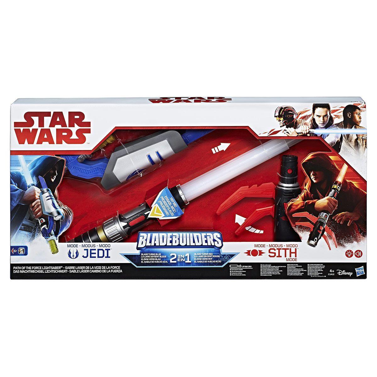 Sabre laser 2 en 1 Choisis ta force - Star wars Episode 8