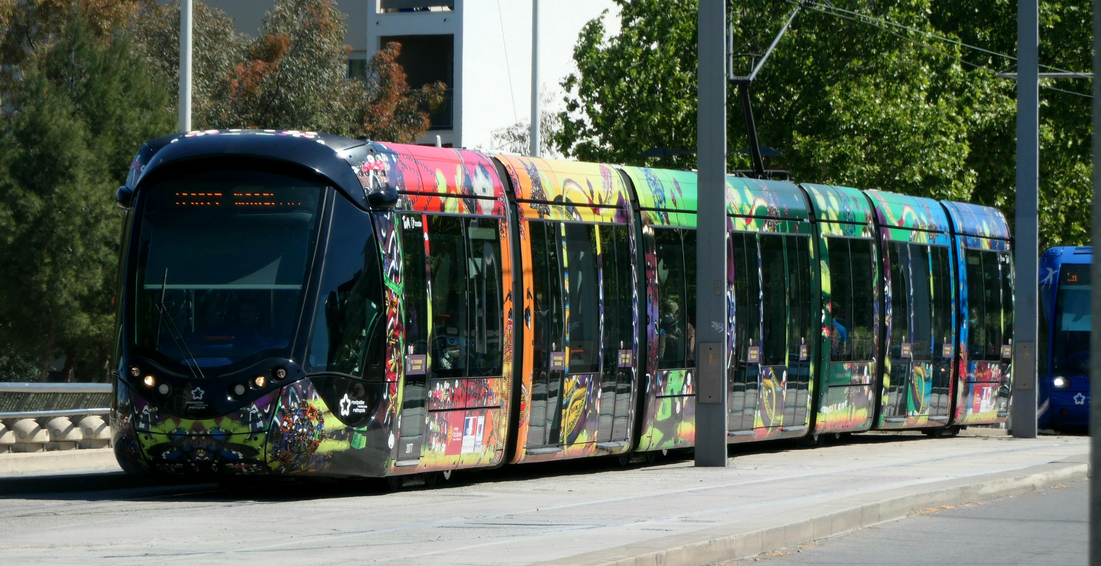 tram de Montpellier