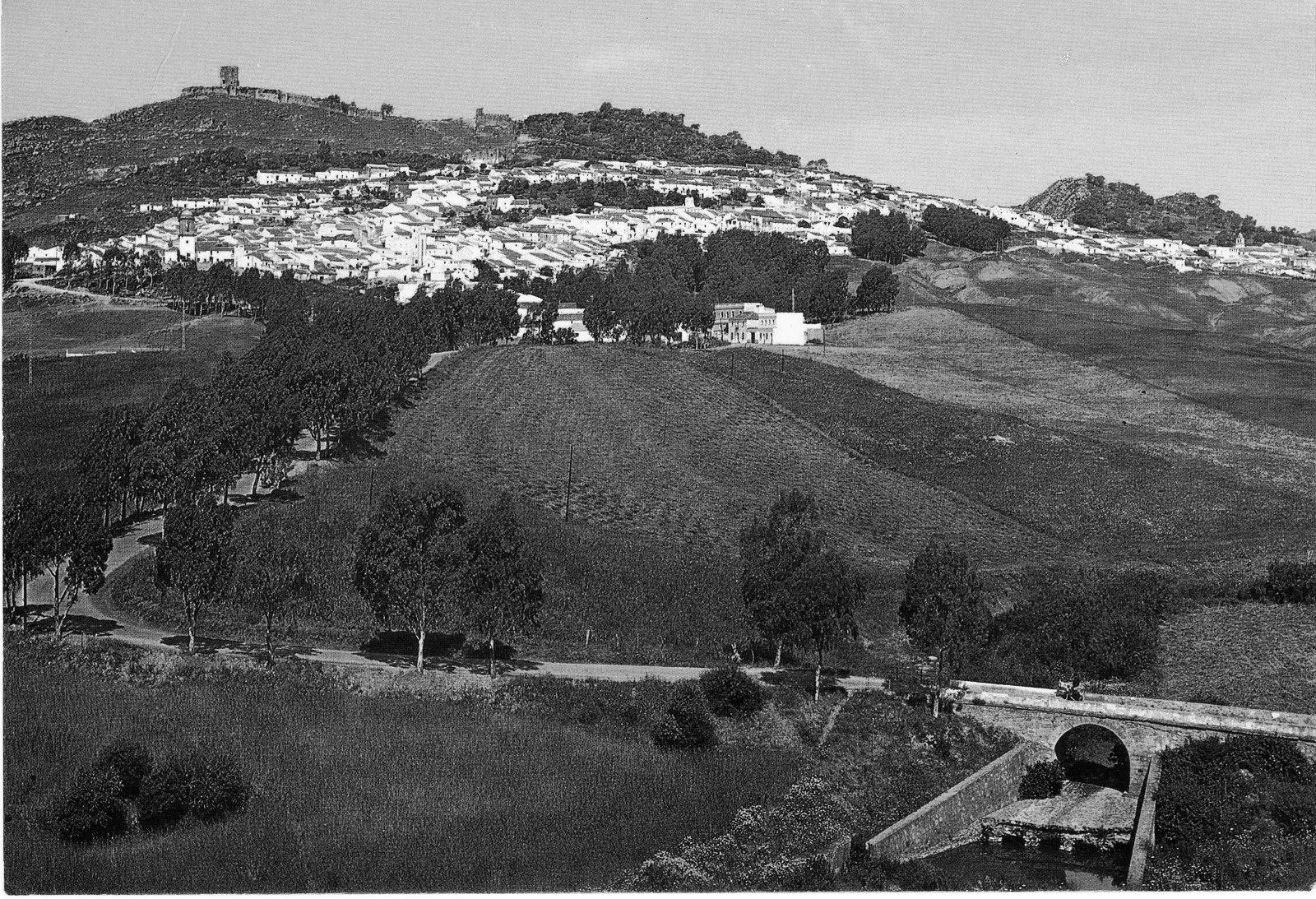 Amanecer en Jimena de la Frontera (Cádiz) Año 1961