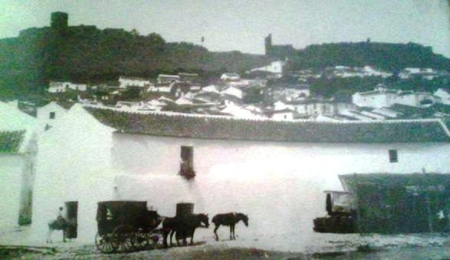 Lugar donde antiguamente se celebraban las corridas de toros en Jimena desde el siglo XIX hasta 1953 donde fue la última.