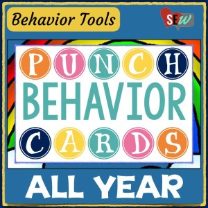 Behavior Punch Cards for All Year