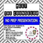 Meet the Counselor Presentation