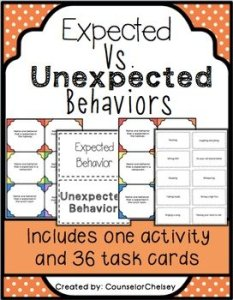 Expected vs Unexpected Behaviors Activities