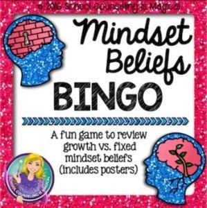 Mindset Beliefs Bingo